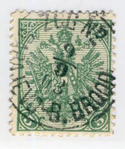 BOSNIE / BOSNIA / BOSNIEN-H. 1903  ZUG N° / SARAJEVO-B.BROOD  K CDS on Mi.13A