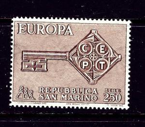 San Marino 687 MNH 1968 Europa