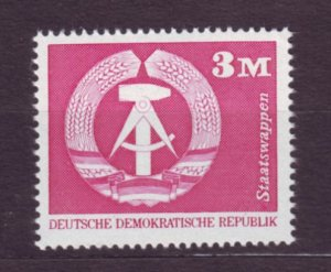J22669 Jlstamps 1973-4 germany ddr hv of set mnh #1443a coat arms