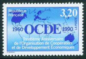 FRANCE Scott 2241 Yvert 2673  MNH** OCDE 1990