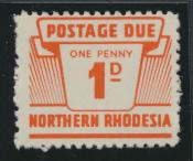 Northern Rhodesia  SG D5 SC# J5 MNH Postage Due 1963 - see details