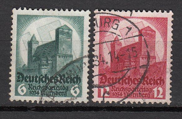 Germany - 1934 Party Congress Sc# 442/443 (5932)