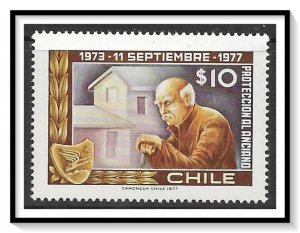 Chile #512 Anniversary Of Social Services MNH