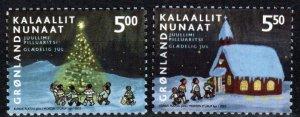 Greenland #420-21  MNH CV $4.25 (X1249)