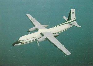 8373 Aviation Postcard  NIGERIA AIRWAYS F27 SKYLINER  Airlines