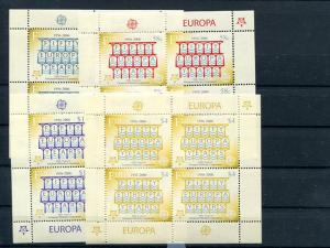 Fiji  2006 Europa blocks 4   Mint VF NH