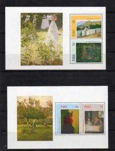 Ireland 888a,890a,890b(both varieties) Mint Souvenir Sheets