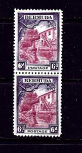 Bermuda 112 MNH 1936 issue in vertical pair