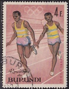 Burundi 104 XVIII Summer Olympic Games, Tokyo 1964