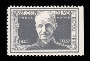REKLAMEMARKE CANADA POSTER STAMP SAINT FRÈRE ANDRÉ
