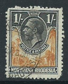 Northern Rhodesia  SG 10 spacefiller  short perfs