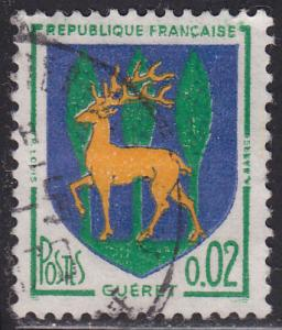 France 1092 Arms of Gueret 1964