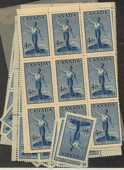 Canada - 1947 Citizenship X 100 mint #275