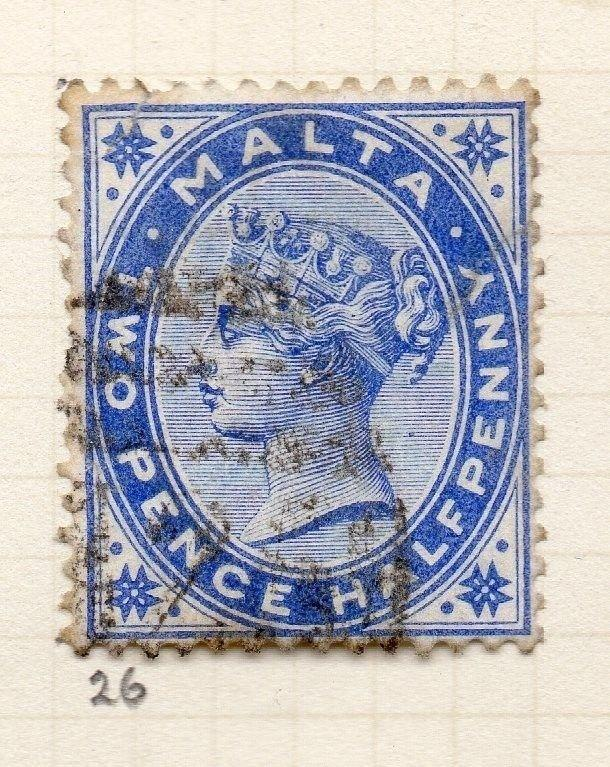 Malta 1885 Early Issue Fine Used 2.5d. 259500