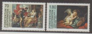 Liechtenstein Scott #1176-1177 Stamps - Mint NH Set