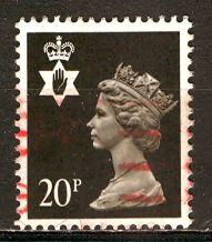 Great Britain, Regional, North. Ireland; 1983: Sc. # NIMH38: O/Used Single Stamp