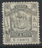 North Borneo  SG 41 Used    please see scans & details