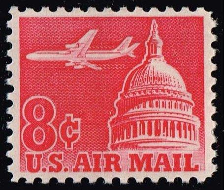 US #C64a Jet Airliner over Capitol; MNH (0.25)