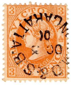 (I.B) Australia Postal : Victoria Postmark (Wangaratta MO&SB)