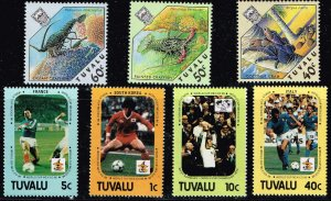 UK STAMP TUVALU MNH STAMPS COLLECTION LOT  #S2