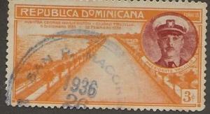 DOMINICAN REPUBLIC SC # 308   USED