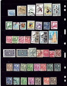 Tunisia #2 42 Different mostly used stamps