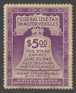 Doyle's_Stamps: MNH 1944 Motor Vehicle Revenue, Scott #RV30**