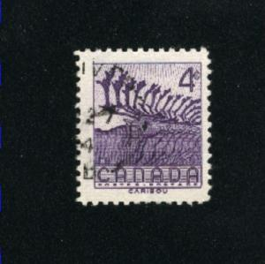 Canada  360  -2  used VF PD 1956