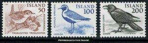 Iceland Scott 543-545 Mint never hinged.