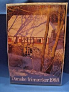 DENMARK STAMP YEAR SETS - 1988, 1989, 1990, 1991   MNH   (gg)