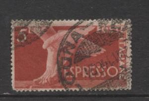 Italy - Scott E19 - Expresso Post -1945 - Used - Single 5 Lira Stamp