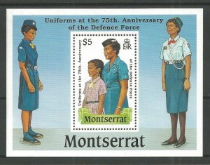 1989 Montserrat Girl Guides Defence Force SS