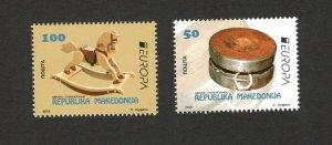 MACEDONIA-MNH** SET-EUROPA CEPT-OLD TOYS-2015.