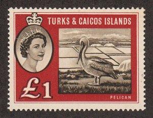 Turks & Caicos Islands - 1960 - SC 135 - LH - High value