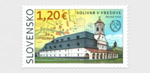 2021 Slovakia Saltworks in Presov  (Scott NA) MNH