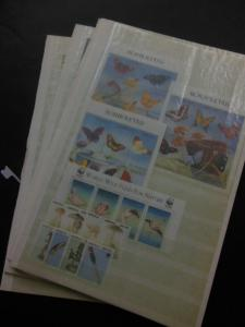 EDW1949SELL : ANGOLA Beautiful VFMNH collection of all Cplt sets & S/S Cat $636.