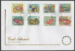 COOK IS 1992 Marine Life to 80c on FDC......................................L663