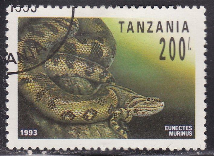 Tanzania 1133 Eunectes Murinus 1993