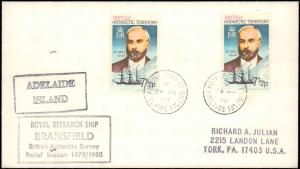 British Antarctic Territory #104, Antarctic Cachet and/or Cancel