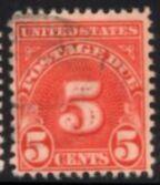 US Stamp #J83 Bureau of Printing & Engrav'g Pstg. Due Single