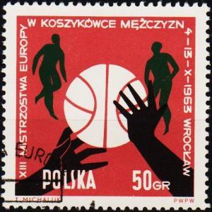Poland. 1963 50g S.G.1406 Fine Used