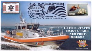 2015, US Coast Guard, Newport OR, 225th Anniversary,  Pictorial, 15-317