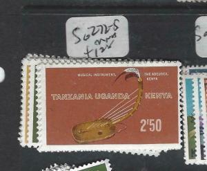 KENYA, UGANDA, TANGANYIKA   (PP0106B)  MUSIC  SG 272-5  MNH