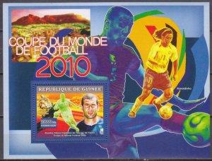 2007 Guinea 4658/B1172 Soccer 7,00 €