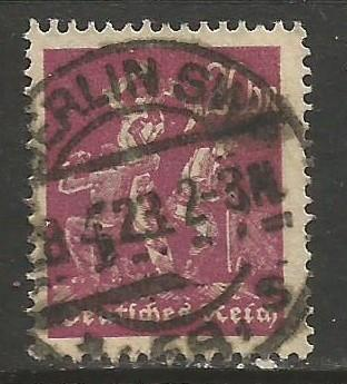 GERMANY 224 VFU C218-3