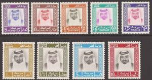 Qatar 290-298 Mint XF NH