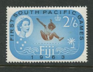 Fiji - Scott 202 - QEII General Issue 1963 - MVLH - Single 2/6d Stamp