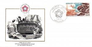 Gabon C178 US Bicentennial U/A FDC