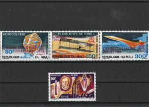 Republic du Mali Aviation Concorde Montgolfiere Mint Never Hinged Stamps Rf23725