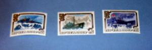Russia - 5246 - 48, MNH Set...Arctic Expedition. SCV - $2.25